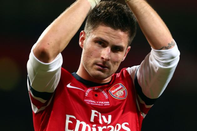 Wenger: Giroud Has Proved That He Belongs