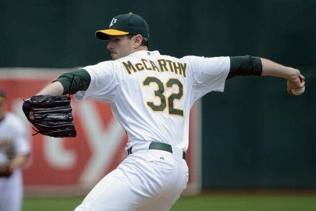 MLB Free Agents 2013: Brandon McCarthy Could Help Put the Blue Jays over the Top