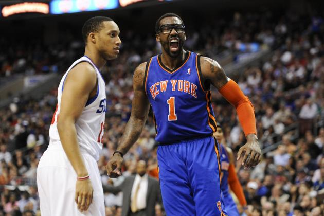 New York Knicks: Why Amar'e Stoudemire Should Start When He Comes Back