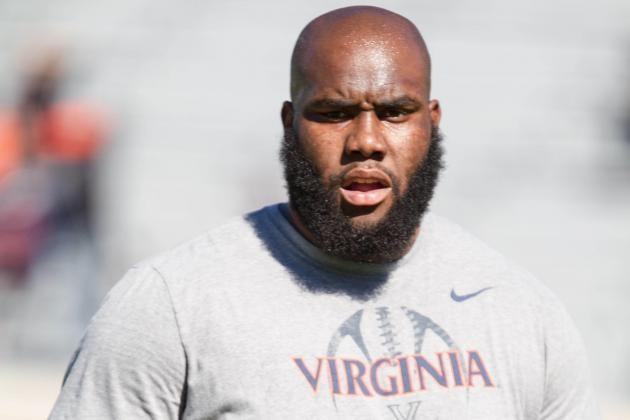 Virginia Could Be Without RT Morgan Moses at Virginia Tech
