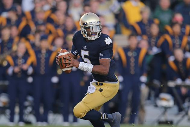 Golson, Irish Offense Develop Some Swagger