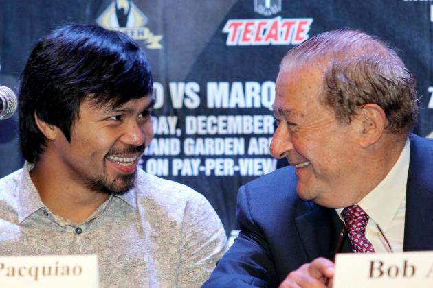 Manny Pacquiao Fans Would See Better Fights If He Dropped Bob Arum