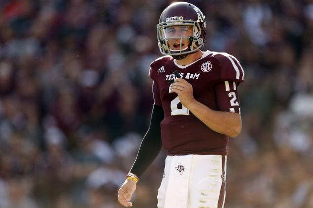 Johnny Manziel: Outrageous Numbers Prove Texas A&M Star Is Best Player in Nation