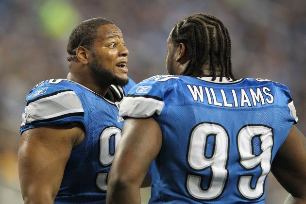 Injured Lions Louis Delmas, Corey Williams Return to Practice