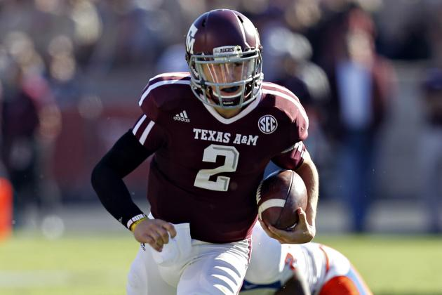 Johnny Manziel: How Aggies Star Can Lock Up Heisman Trophy Against Missouri