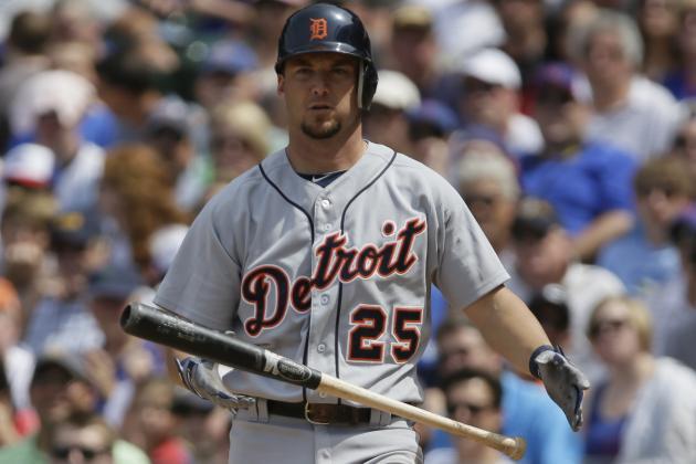 Tigers Release Ryan Raburn