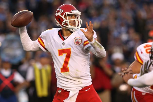 Matt Cassel: Chiefs Should Keep Ineffective QB on Bench for Remainder of Season