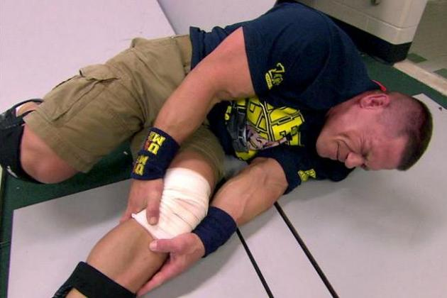 John Cena Injury: Why WWE Star's Latest Ailment Is Nothing More Than a Work