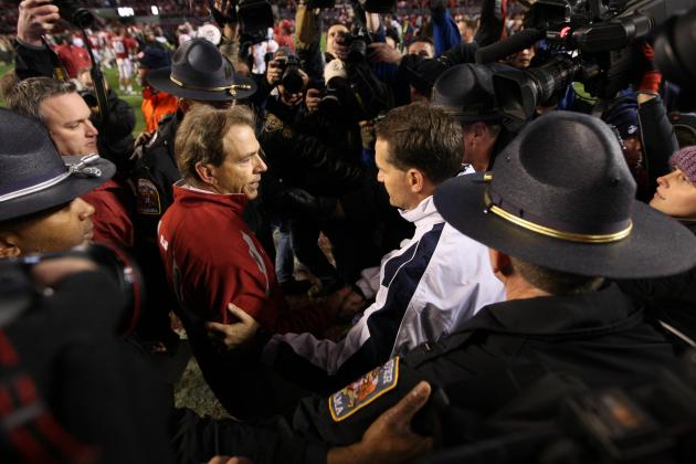 Nick Saban Compliments Gene Chizik but Doesn't Lobby for Him