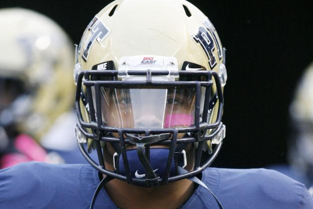 Pitt RB Rushel Shell Balances Class, Football and Fatherhood in Freshman Year
