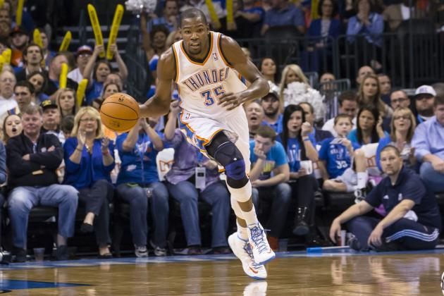 Oklahoma City Thunder Using Kevin Durant's Playmaking to Create Multiple Options