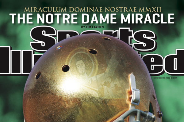 Notre Dame Football Graces Cover of New Sports Illustrated Magazine