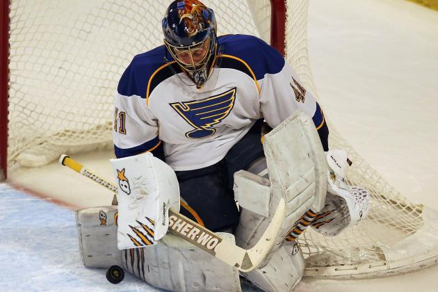 Report: Blues' Halak to Sign in KHL