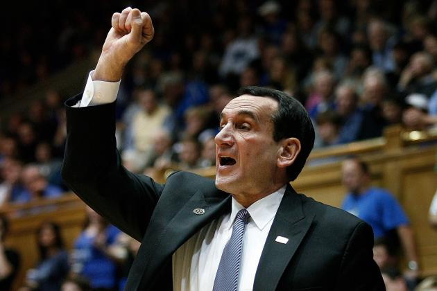 Coach K on Maryland: 'I Would Hope They Would Stay in Our League'