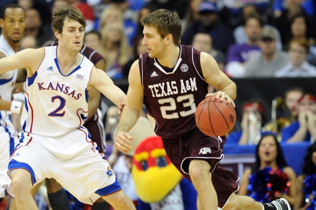 Zach Peters Not on KU Bench Because of Illness