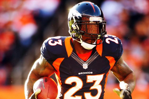 Breaking Down What Willis McGahee's Injury Means for Peyton Manning, Broncos