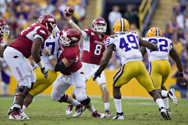 LSU vs. Arkansas: How Razorbacks Can Pull Off the Major Upset