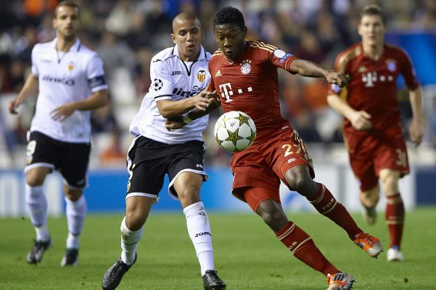 Soccer-Bayern Join Valencia in Last 16 After 1-1 Draw