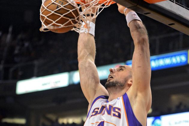 Phoenix Suns Center Marcin Gortat Upset with Role on Team