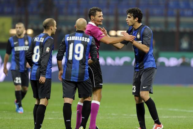 Inter Chief: Club Ill-Treated by Officials