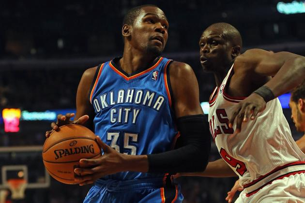 Is Oklahoma City Thunder's Kevin Durant Unthinkably Overrated?