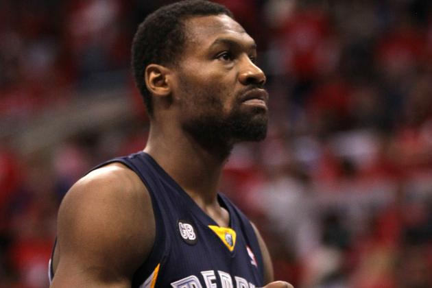 Tony Allen Pulls Kenneth Faried's Hair