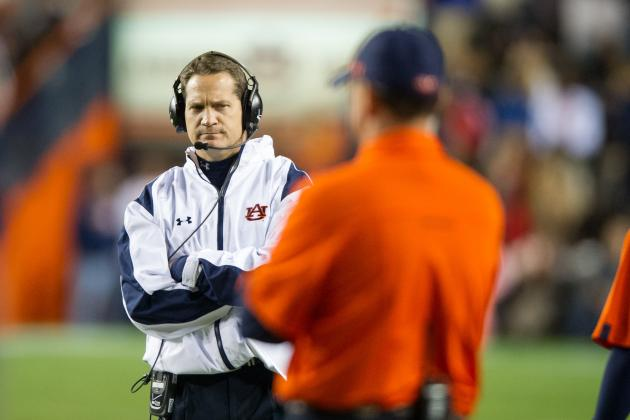 Auburn vs. Alabama: Blowout Loss Should End Gene Chizik's Tenure with Tigers