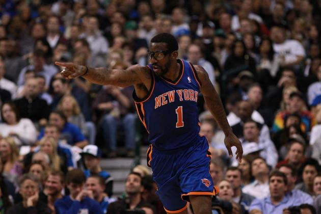 Amar'e Stoudemire Returning as 6th Man Is Only Option for NY Knicks