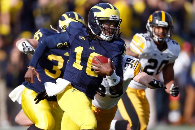 Michigan Football: Injuries to Shoelace, Fitz Cloud Wolverines-Buckeyes Duel