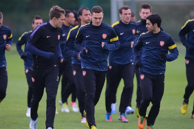 Arsenal: Last-Minute Team News and Potential Starting XI vs. Montpellier