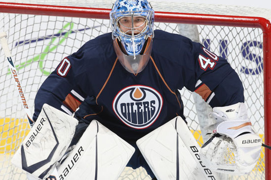 Oilers Goaltender Devan Dubnyk Forced to Be Mobile to Find Practice Time