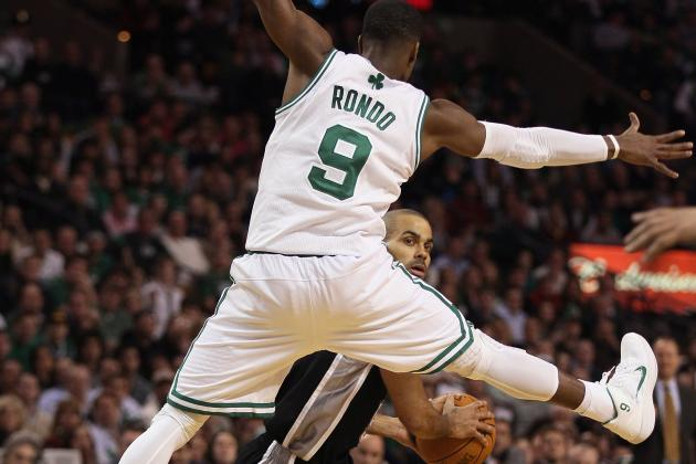 NBA Great Debates:  San Antonio Spurs Tony Parker vs. Boston Celtics Rajon Rondo
