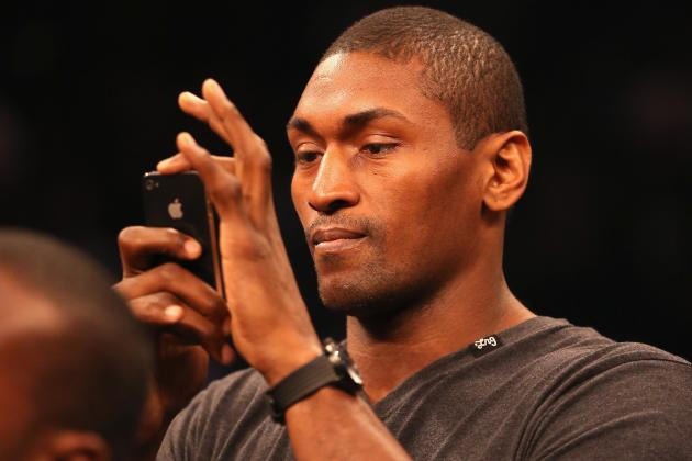 Metta World Peace Calls the Nets Floppers