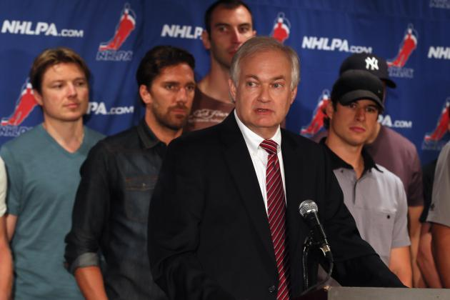 NHL Lockout 2012: NHLPA Reportedly Will Propose New CBA Today