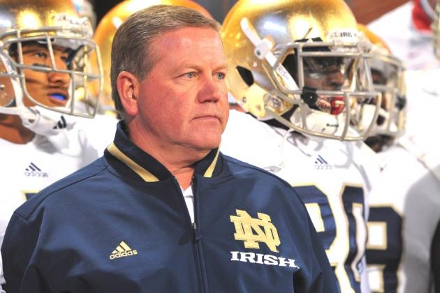 Notre Dame Football: Pressure Is Bigger Adversary to Fighting Irish Than USC