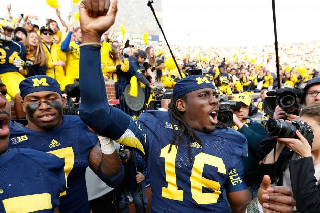 Denard Says He Still Has Numbness in Hand, but Ready to Play Against Ohio State