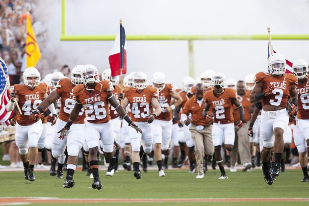Breaking Down Texas' 2013 Schedule