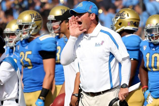 Jim Mora: UCLA Head Coach Doesn't Give a 'Rat's Ass' About USC Trojans