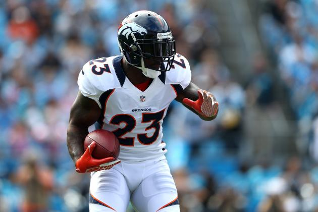Denver Broncos Place Willis McGahee on IR with Knee Injury