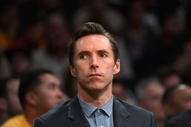 Steve Nash to Miss at Least Next Three Games with Leg Injury
