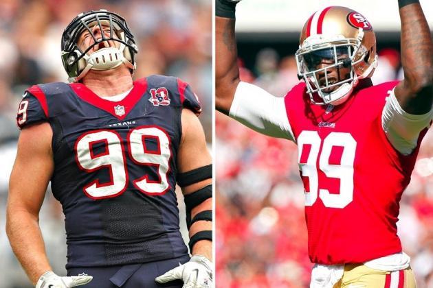 Aldon Smith vs. J.J. Watt: Who Is the NFL's Best Defensive Player?