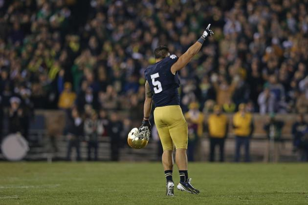 No Gimmicks for Te'o in Heisman Race