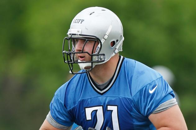 Lions Offensive Linemen Confident in Reiff's Ability to Step in for Backus