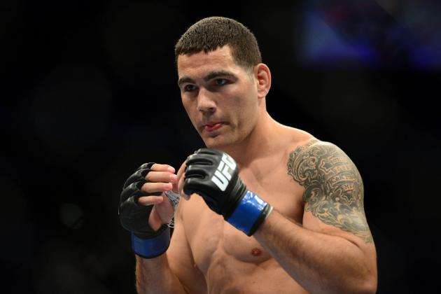 UFC Middleweight Chris Weidman out of UFC 155 Bout vs. Tim Boetsch