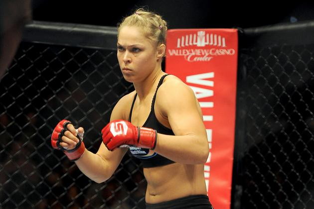 Ronda and Tate Agree That Georges St-Pierre Is 'Ignorant'
