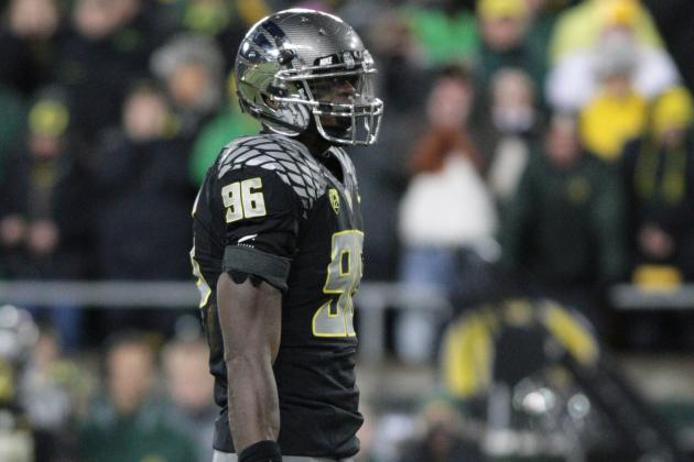 Oregon's Dion Jordan a Finalist for Butkus Award