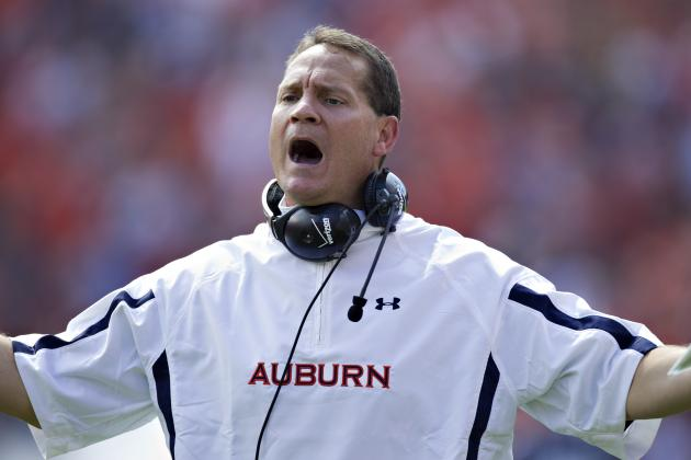 Auburn vs. Alabama: How Tide Will Run Gene Chizik out of Town with Blowout Win