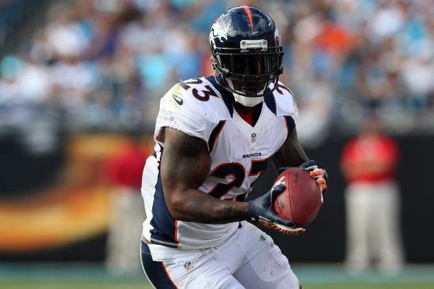 What Willis McGahee's Injury Means for Fantasy Owners, Denver Broncos