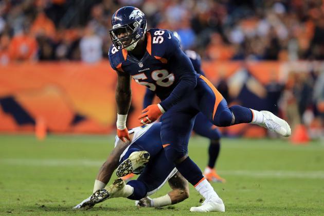 NFL Honors Broncos LB Von Miller