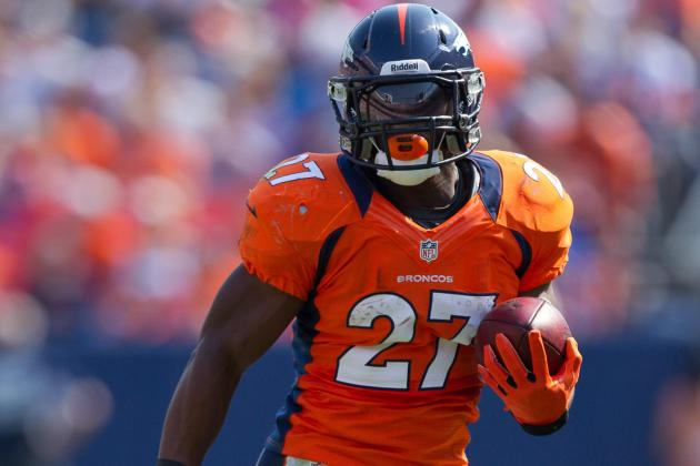 Broncos' Knowshon Moreno Jokes He Should Be Fresh If Called Upon